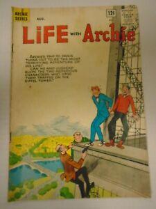 AP LIFE WITH ARCHIE #22 (1963) Paris, Jughead, Eiffel Tower, Li'l Jinx