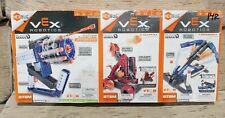 Vex Robotics Lot of 3 Gatling Rapid Fire, Catapult & Crossbow Launcher Hex Bug