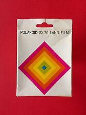 Original POLAROID SX 70 Land FILM 1975 Extreme Brillant NEU + OVP 10 Box NEW 75