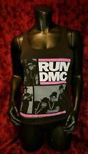 MEDIUM Run DMC Racerback Tank Top Punk Rock Hip Hop Rap Retro
