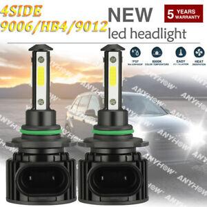 9006 HB4 LED Headlight Kits FOG Bulbs Hi/Low Beam 2400W 360000LM 6000K White