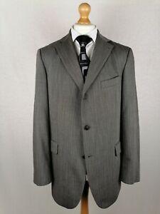 "Mens Tommy Hilfiger ""Benjamin"" Blazer Jacket EU 54 (UK 44) Relaxed Fit Grey Wool"
