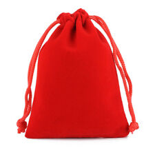 Large 12x20 CM Drawstring Pouch Bag Jewelry Gift Bags 10 pcs Wedding Party Favor
