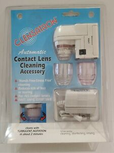 CLENSATRON 700CL Automatic Contact Lens Cleaner Cleaning Accessory New Old Stock