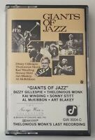 Giants of Jazz Cassette Various Artists 1984 Concord Jazz Tape