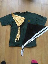 Vintage Cub Scout Tshirt ,+ 2 scarfs & 2 Wiggles 1990s.