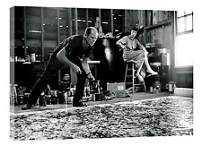 Jackson pollock  PAIN RE PRINT ON CANVAS WALL ART HOME DECORATION