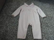 NEW NWOT MAX STUDIO BABY PINK CASHMERE OUTFIT 3-6