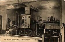 CPA Paris 9e Le Laboratoire de Georgia Knap a la Maison Electrique (274238)