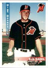1997 High Desert Mavericks Grandstand #22 Erik Sabel West Lafayette Indiana Card