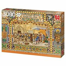 Fliesen aus Barcelona 18590 Jumbo 3000 Teile Premium Collection Puzzle NEU OVP