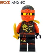 LEGO Minifigure Ninjago NJO194 Kai Skybound + 2 Epées Swords NEUF NEW