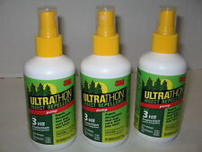 3M Ultrathon Insect Mosquito Repellent Pump Up To 3 Hr 6 oz Lot of 3 New