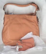 Coach 16535 Coral Leather PENELOPE Shoulder Bag & Wristlet 42389 Set NEW $406