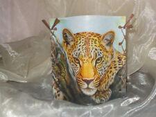 Deko Windlicht Leopard Tischlicht Mitbringsel