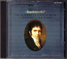 Christopher Hogwood: Beethoven Symphony No. 1 & 2 AAM L 'OISEAU-LYRE CD SYMPHONIES