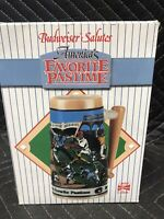 Budweiser Salutes Baseball America's Favorite Pastime Limited Edition Stein 1990
