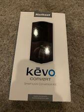 Kwikset Kevo Convert Smart Door Lock Conversion Kit Bronze