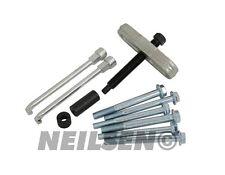 Steering Wheel Puller Remover Set Car Garage Tool Kit SAE and Metric 4 Hubs New