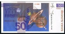 SLOVENIA BANKNOTES 1990-1997 - UNC - CHOOSE FROM DROP DOWN MENU