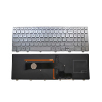 New Dell Inspiron 15-7000 15-7537 Series Keyboard Backlit US Silver Frame Win8