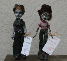 OOAK Bratz The Walking Dead Pocket Zombies JAWZ SKABZ Long Gone Dolls Series 1