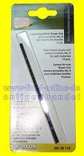 PROXXON 28116 Laubsägeblatt grob verzahnt 12 Blätter/Packung DSH DS460 DS230