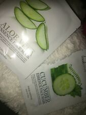 Look Time Cucumbers and Aloe's Vera Essences Face Masks