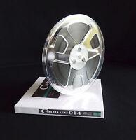 """Capture Reel to Reel Tape 914 1/4"""" x 1200' 7"""" Reel for TEAC Pioneer Sony Otari"""