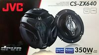 """NEW JVC CS-ZX640 6.5"""" 4-Way DRVN Series Coaxial Car Stereo Speakers (1 Pair)"""