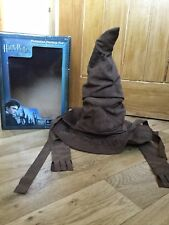 UNIVERSAL STUDIOS Wizarding World Of Harry Potter Animated Sorting Hat Talking