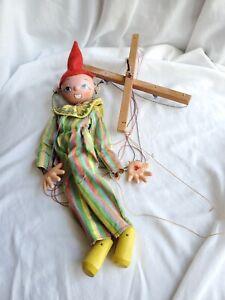 Vintage Pelham Puppets Clown Puppet