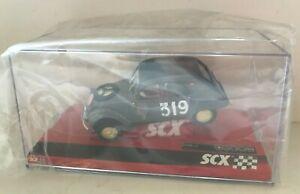 SCX 1/32 4WD Slot Car Citroen 2 CV Monte-Carlo #319 4x4 w/ LIGHTS! A10155 - NEW!