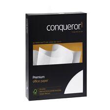 50 Blatt A4 Conqueror Texture Creme Briefpapier Wasserzeichen 100g gerippt