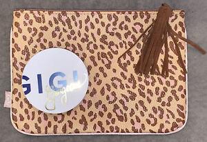 """GIGI Gorgeous""The Sick Sculpt Bronzer Duo: Turnt + Extra~Ipsy Leopard Print Bag"