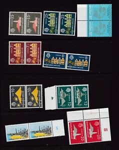 Lot of 46 Mixed MNH Stamps From Curacao Netherland Antilles in 3 pics