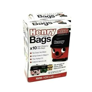 Henry Hoover Bags Vacuum Genuine Numatic Hetty Hepaflo 907075 - 20 Pack