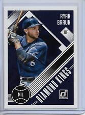 2018 Donruss Ryan Braun Diamond Kings Card