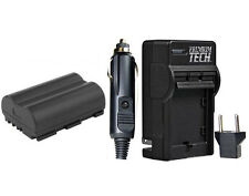Premium Tech BP-511 Battery + Charger for Canon Powershot G1, G2, G3 ,G5, G6
