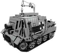 CUSTOM building INSTRUCTION - for WW2 Sturmtiger to build out of LEGO® parts