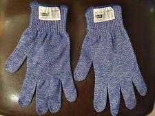 2 Pack Safety Resistant Mesh Butcher Gloves Blue Tucker UtGlove Food Preperation