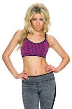 Abbigliamento sportivo da donna rosa in poliammide
