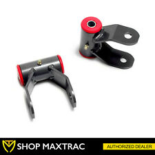 """MaxTrac 2"""" Rear Drop Shackle Lowering Kit 412120 For 2002-2008 Dodge Ram 1500"""