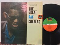 Ray Charles The Great VG+ 70s Press