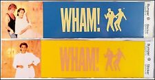 WHAM! Lot Of 10 80's Bumper Stickers George Michaels