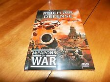 WEAPONS OF WAR REICH AIR DEFENSE Nazi Night Fighters History Planes WWII DVD NEW