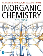 NEW - FAST to AUS - Inorganic Chemistry by Housecroft (5 Ed) - 9781292134147