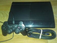 Sony PS3 Super Slim CHECH-4301C 500 GB Complete with 10 DLC Games FAST SHIP