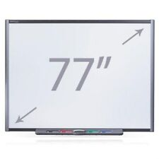 "SMART BOARD SB680 77"" INTERACTIVE Touch Screen Bianco bordo GARANZIA EXP 04/2019"