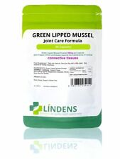 Green Lipped Mussel 500mg - 360 Capsules - Joint Care Formula With Copper